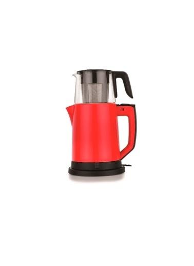 Schafer Optimal Çay Makinesi - Kırmızı-06453 1.8Lt Kırmızı